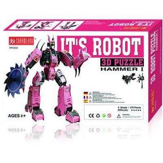 Super Blade:It´s robot - 3D Puzzle