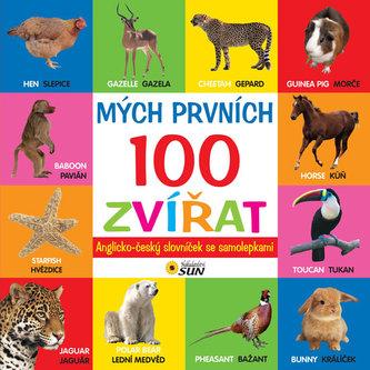 Mých prvních 100 zvířat anglicko - český slovník