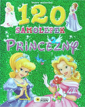 Bezva malování 120 samolepek Princezny