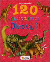 Bezva malování 120 samolepek Dinosauři
