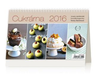 Cukrárna 2016 - stolní kalendář