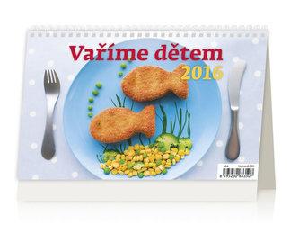 Vaříme dětem 2016 - stolní kalendář