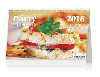 Párty 365 dní v roce 2016 - stolní kalendář