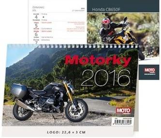 Motorky 2016 - stolní kalendář