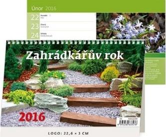 Zahrádkářův rok 2016 - stolní kalendář