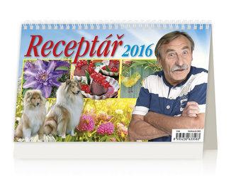 Receptář 2016 - stolní kalendář