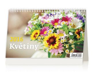 Květiny 2016 - stolní kalendář