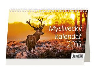 Myslivecký kalendář 2016 - stolní kalendář
