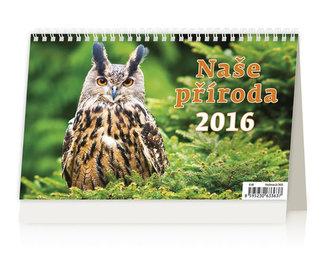 Naše příroda 2016 - stolní kalendář