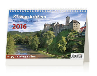 Křížem krážem Českou republikou 2016 - stolní kalendář