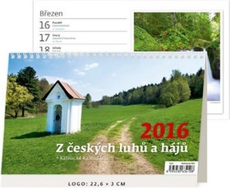 Z českých luhů a hájů 2016 - stolní kalendář