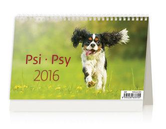 Psi/Psy 2016 - stolní kalendář