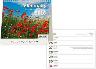 Vlčí máky 2016 - stolní kalendář