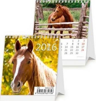 Mini Horses 2016 - stolní kalendář