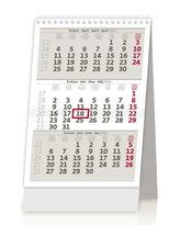 MINI tříměsíční kalendář/MINI trojmesačný kalendár - stolní kalendář