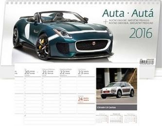 Auta/Autá 2016 - stolní kalendář