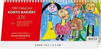 Děti malují pro Konto Bariéry 2016 - stolní kalendář