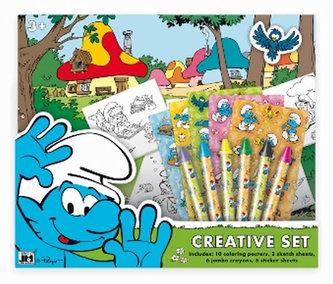 Šmoulové Kreativní set