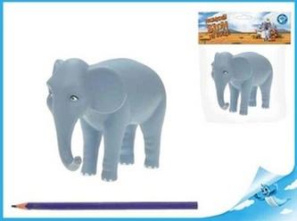 Nejmenší slon na světě - postavička máma slon 12,5cm v sáčku