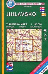 Jihlavsko - Turistická mapa - edice Klub českých turistů 79