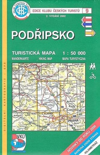 Podřipsko - Turistická mapa - edice Klub českých turistů 9