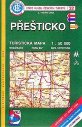 Přešticko - Turistická mapa - edice Klub českých turistů 32