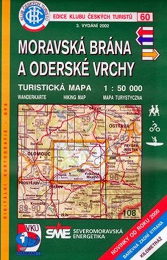 60 KČT Moravská brána a Oderské vrchy