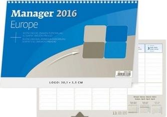Manager Europe 2016 - stolní kalendář