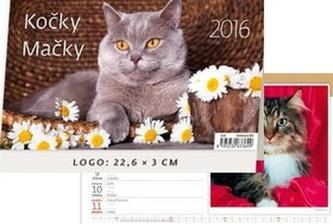 Kočičky/Mačičky 2016 - stolní kalendář