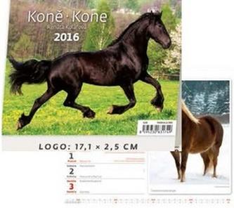 Koně/Kone 2016 - stolní kalendář