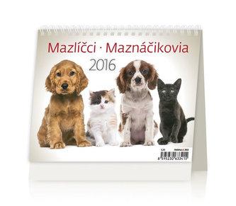 Mazlíčci/Maznáčikovia 2016 - stolní kalendář