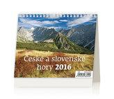 České a slovenské hory 2016 - stolní kalendář