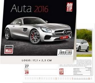 Auta 2016 - stolní kalendář