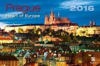 Prague – Heart of Europe 2016 - nástěnný kalendář