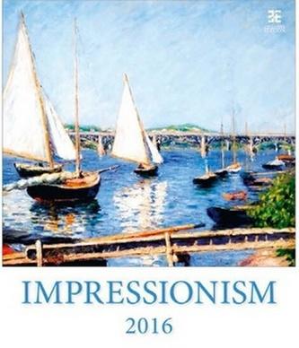 Impressionism 2016 - nástěnný kalendář