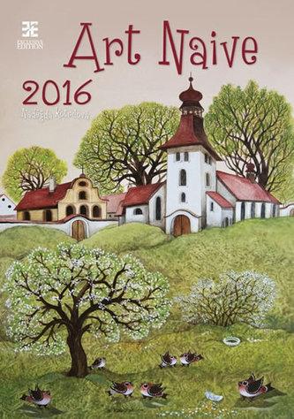 Art Naive 2016 - nástěnný kalendář