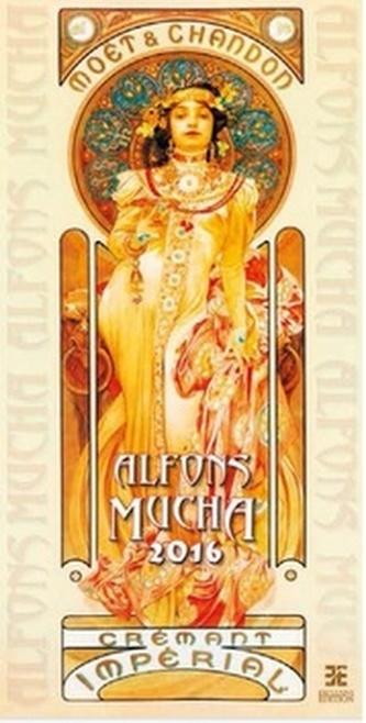 Alfons Mucha 2016 - nástěnný kalendář