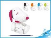 Snoopy plyšový 5 barev