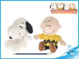 Snoopy a Charlie plyšoví 2druhy v DBX