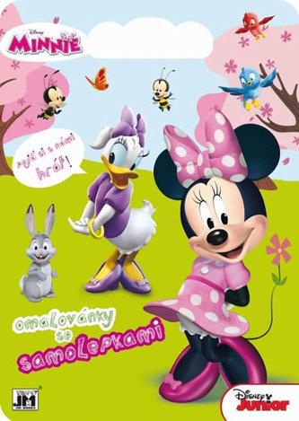 Minnie - Omalovánky se samolepkami - neuveden
