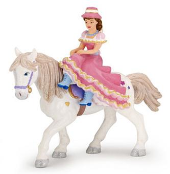 Princezna s kloboukem na koni