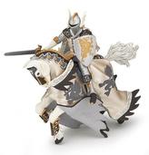 Dračí princ bílý s koněm
