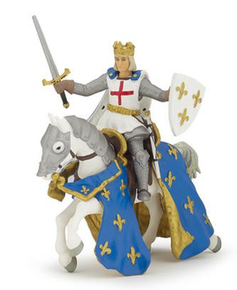 Svatý Ludwig s koněm
