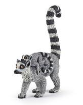 Lemur a mládě