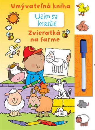 Učím sa kresliť - Zvieratká na farme