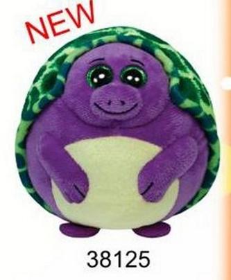 Beanie Ballz želva fialová 12,5cm