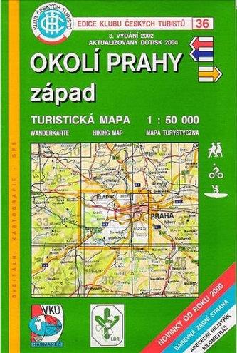 KČT 36 - Okolí Prahy - západ