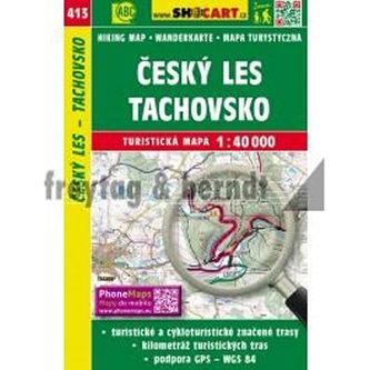Český les Tachovsko 1:40 000