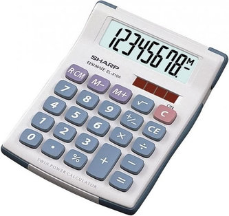 Kapesní kalkulátor s velkým 8 mi místným