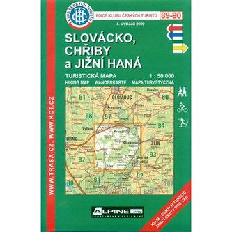 KČT 89-90 - Slovácko, Chřiby a Jižní Han